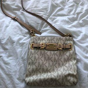 Authentic Michale Kors cross body purse
